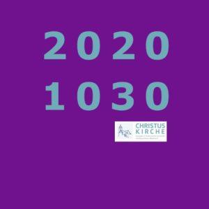 Ab 2020 um 10:30!