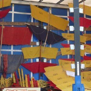 Ausstellung historischer Drachen am 1.3.20