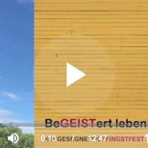 1 Pfingstfest - 6 Kirchen - 12 Minuten