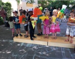 Abschied im Kindergarten