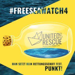 SeaWatch4 festgesetzt :(