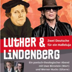 Luther und Lindenberg - Informationen zur Veranstaltung am Reformationstag, 17:00 Uhr